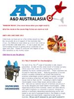 A&D Weighing Newsletter October 2011