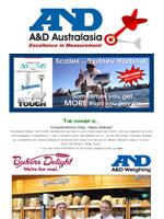 A&D Weighing Newsletter October 2012
