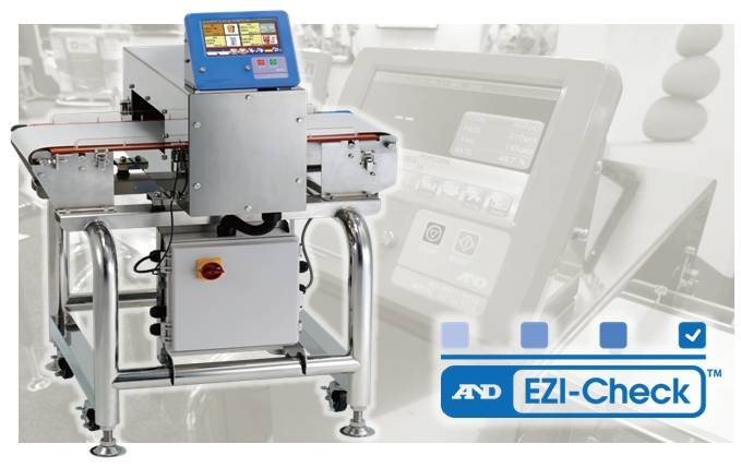 EZI-CHECK Food Grade Metal Detector