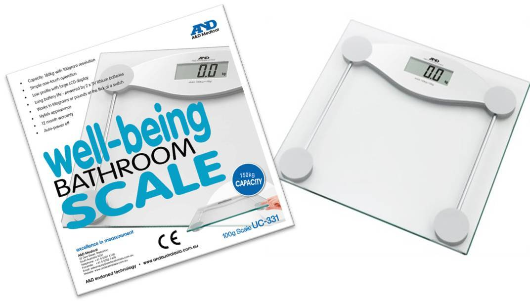 Wellbeing Personal Scale - AFFORDABLE QUALITY - only $105!